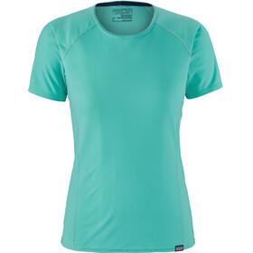 Patagonia W's Capilene Lightweight T-Shirt Strai Blue